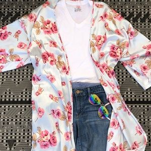 Boho Kimono Outfit
